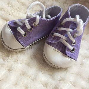 Shoes - purple converse